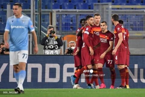 Roma vs Lazio: Giallorossi Berjaya di Derby della Capitale