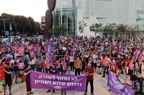 Ratusan Warga Israel Desak Pemerintah Deklarasikan Gencatan Senjata