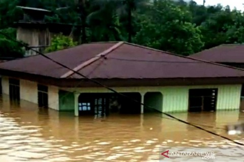 Sejumlah Daerah di Pedalaman Kaltara Banjir