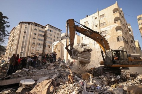 Serangan Udara Israel Gempur Rumah Petinggi Hamas di Gaza