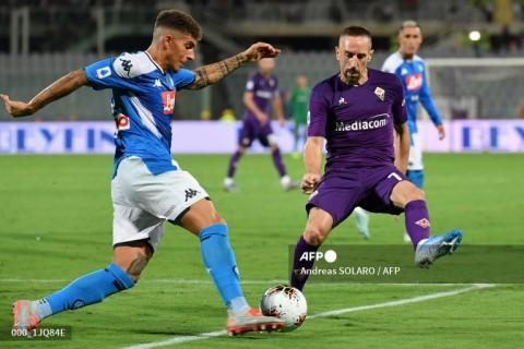 Fiorentina vs Napoli: Bekuk La Viola, Partenopei ke Tiga Besar