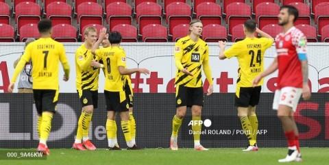Mainz vs Dortmund: Dortmund Atasi Perlawanan Mainz