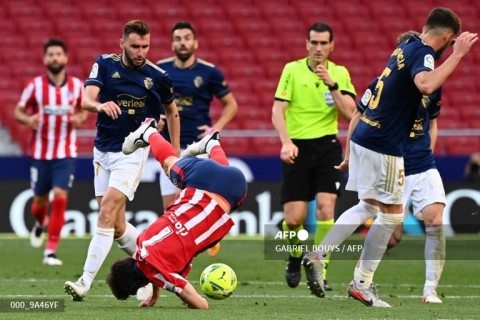 Atletico vs Osasuna: Los Colchoneros Jaga Asa Juara
