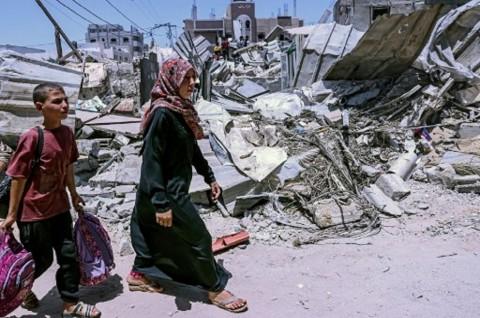 Serangan Terbaru Israel Tewaskan 10 Anak-Anak dan 1 Dokter