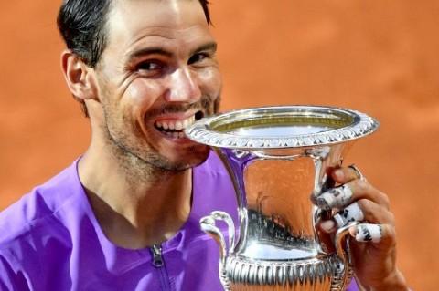 Tekuk Djokovic, Rafael Nadal Juara Italian Open 2021