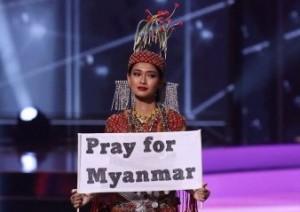 Miss Universe Myanmar Desak Junta Berhenti Gunakan Kekerasan