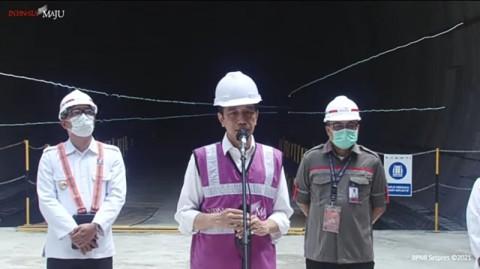 Pembangunan Kereta Cepat Jakarta-Bandung Rampung 73%