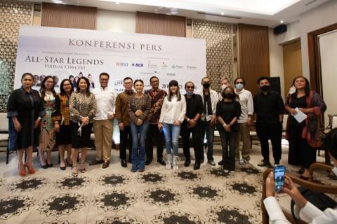Fariz RM, Deddy Dhukun, Yuni Shara, dan Sejumlah Musisi Legendaris Bakal Gemparkan All Legends Virtual Concert