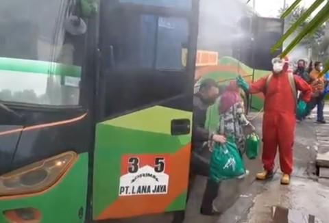Bus AKAP Wajib Turunkan Penumpang di Terminal