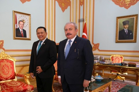 Hubungi Ketua MPR Turki, Bamsoet Kecam Agresi Israel di Gaza