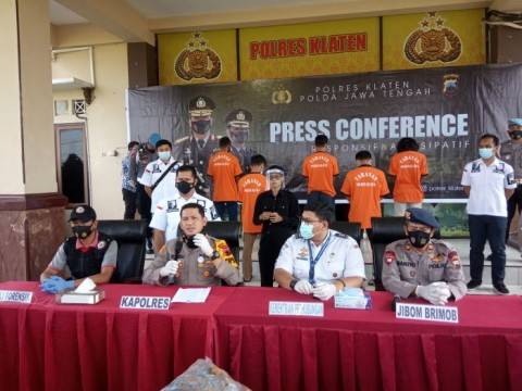 Ledakan Petasan Balon Udara di Klaten, 5 Warga Magelang Ditangkap