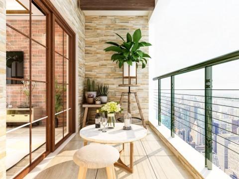 Percantik Tampilan Balkon Rumah dengan Tanaman Ini