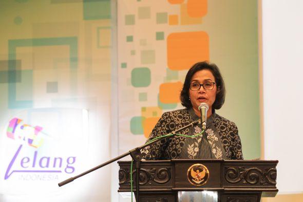 Menteri Keuangan Sri Mulyani Indrawati. Foto: MI/Erlangga