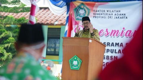 Wamenag: Madrasah Garda Terdepan Moderasi Beragama