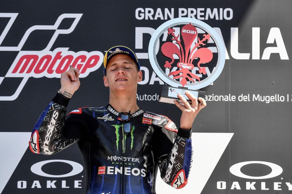 Quartararo Juara MotoGP Italia 2021