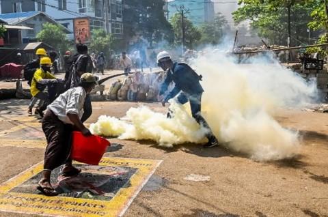 Korban Tewas Demo Anti-Kudeta Myanmar Jadi 840 Orang