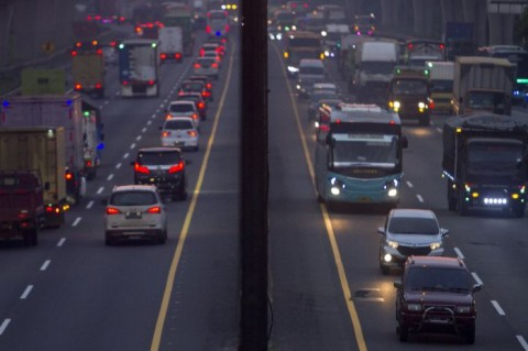 Total 3,4 Juta Kendaraan Pemudik Kembali ke Jabodetabek
