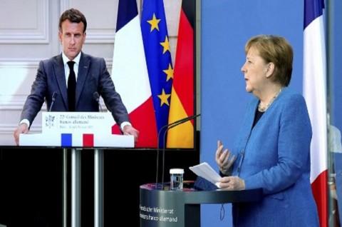 Macron dan Merkel Geram atas Dugaan Aktivitas Mata-Mata AS-Denmark