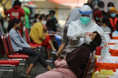 Kasus Covid-19 di Surabaya Terkendali
