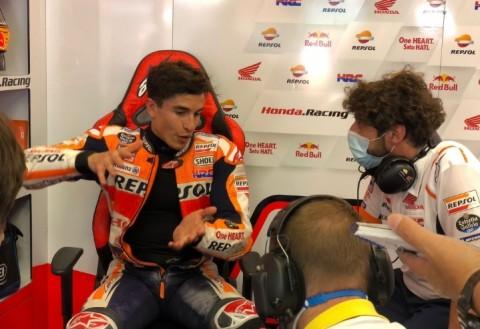 Terjatuh di MotoGP Italia, Marquez: Itu Salah Saya