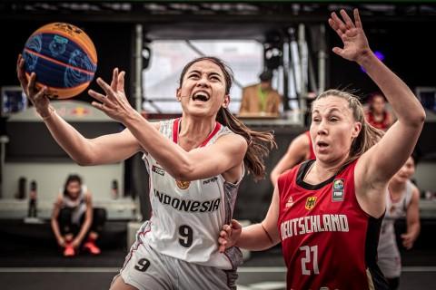 Timnas Basket Putri 3x3 Bawa Banyak PR dari Kualifikasi Olimpiade Tokyo