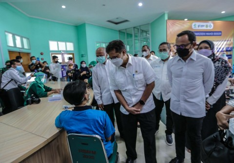 Menkes Pantau Vaksinasi untuk ODGJ di Kota Bogor