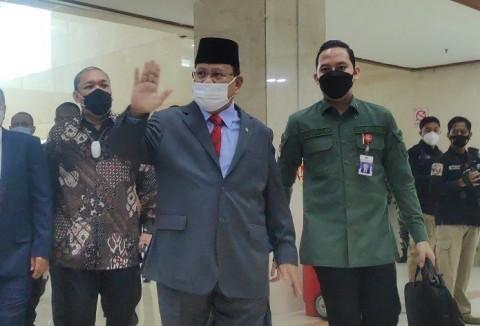 Menhan Prabowo Bocorkan Apa yang akan Dibahas Bersama DPR