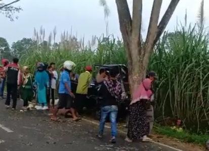 Sopir Pikap Kecelakaan Maut Tewaskan 8 Orang Jadi Tersangka