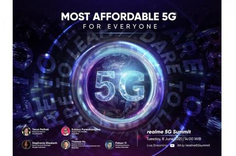 Realme Siap Gelar 5G Summit Pertama