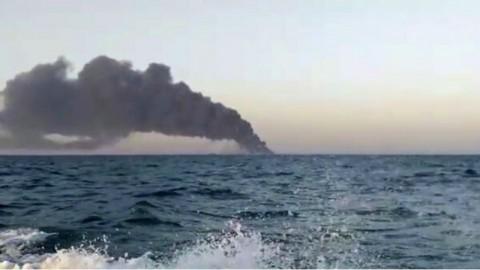 Nasib Kapal Perang Terbesar Iran, Tenggelam di Teluk Oman