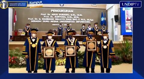 Rektor Undip Ingatkan para Guru Besar Hati-hati Menggunakan Medsos
