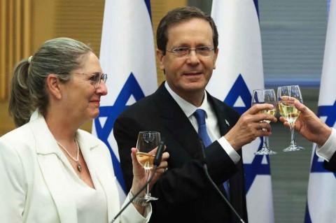 Parlemen Pilih Isaac Herzog Ganti Reuven Rivlin sebagai Presiden Israel