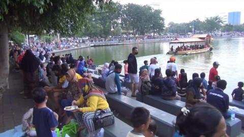 Pengunjung Danau Sunter Membeludak, Wali Kota Sebut Kekurangan Personel