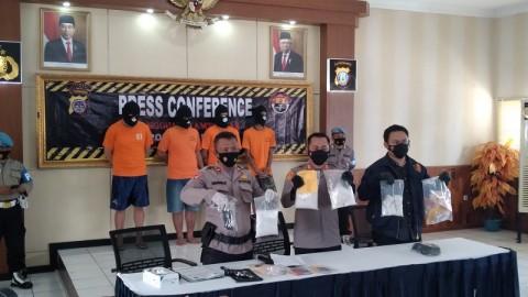 Kurir Sabu 4 Kilogram Ditangkap Polres Sleman
