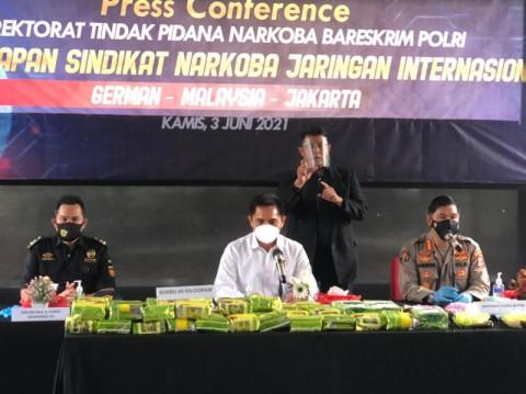 Penyelundupan 45 Kg Sabu-sabu dari Malaysia Terbongkar