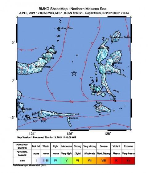 Gempa M 6,1 Guncang Ternate, Masyarakat Panik dan Keluar Rumah