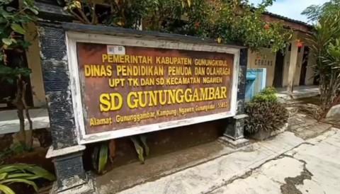 Terkendala Internet, SD di Gunungkidul Tetap Sekolah Tatap Muka