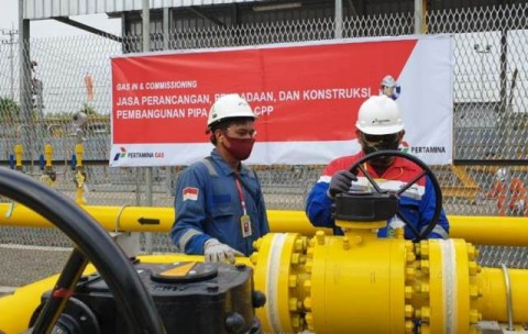 Lampaui Target, Laba Bersih Pertagas Kuartal I-2021 Capai USD41 Juta