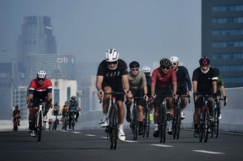 Pesepeda <i>Road Bike</i> Diminta Tertib Meski Dilindungi Kepgub
