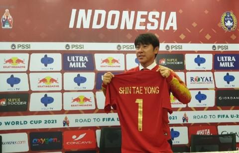 Shin Tae-yong Tepuk Tangan atas Hasil Imbang Indonesia dengan Thailand