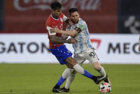Kualifikasi Piala Dunia 2022: Cile Tahan Imbang Argentina