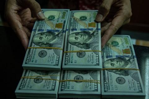 Data Ekonomi AS Mentereng, Dolar Perkasa Lawan Rupiah