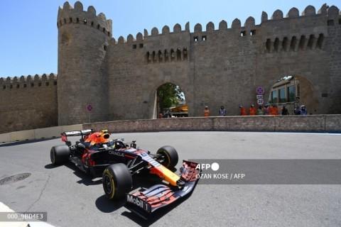 F1GP Azerbaijan: Perez Pimpin Duo Red Bull di FP2