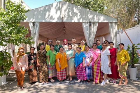 Para Istri Dubes di Tiongkok Terpesona dengan Wonderful Indonesia