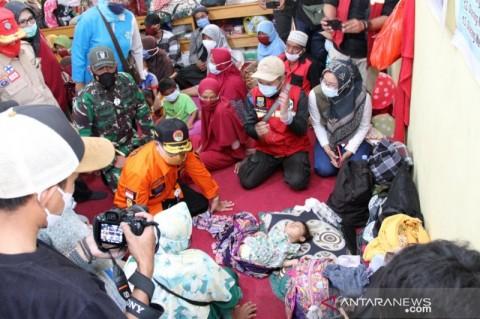 Pengungsi Longsor Cibeber Cianjur Bertambah Jadi 300 Jiwa