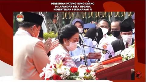 Megawati Ingatkan Pentingnya Strategi Perang Gerilya pada Prajurit TNI