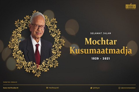 Mantan Menteri Luar Negeri Mochtar Kusumaatmadja Tutup Usia
