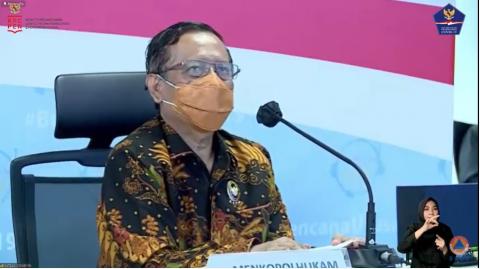 Mahfud Tampung Aspirasi Seniman Yogyakarta