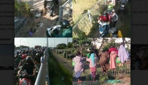 Polisi Bantah Video Viral Warga Lolos Penyekatan di Suramadu