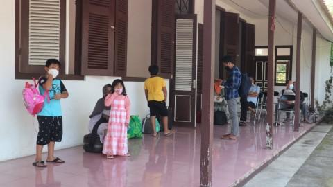 Anak-Anak dan ASN Kudus Jalani Isolasi di Donohudan